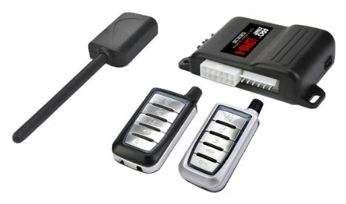 Remote starter car alarm