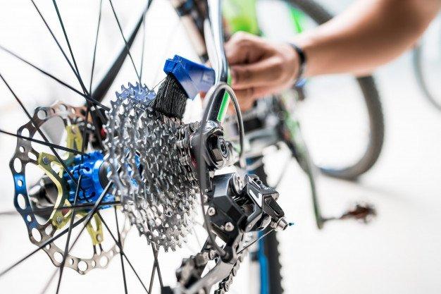 how to put a bike on a bike rack